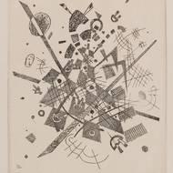 Wassily Kandinsky, Kleine Welten V, 1922