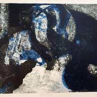 Robert Preyer, Brücke, Lithografie, o. J.