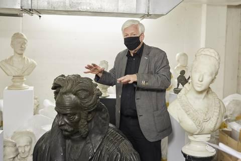 Neues Depot für den Nachlass des Bildhauers Benedikt König gefunden