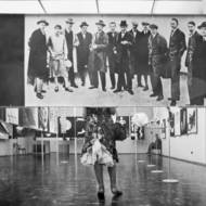 Pit Ludwig, Blick in die Bauhaus-Ausstellung in der Kunsthalle Darmstadt, Fotografie, 1961