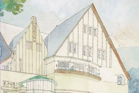 Der Architekt Friedrich Wilhelm Jochem (1881-1945). Olbrichs Meisterschüler