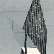 Robert Preyer, Brechung, Collage, 1976.